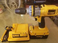 yellow and black Dewalt cordless hand drill Modesto, 95351