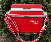 Cooler with handle and adjustable strap by: GOTT To Go Dillsburg, 17019