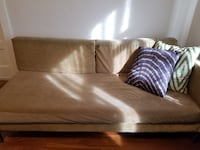 Tan Chaise Lounge / Lounger Sofa Los Angeles