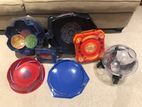 Beyblade arenas and carrying cases Toronto, M4B 3C9
