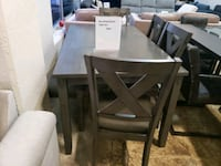 New 6pc dining room table set tax included