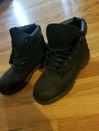 Size 5 All black Timbs Cincinnati