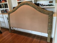 King upholstered custom headboard Olmos Park, 78212