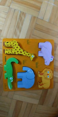 Toddler wooden puzzle Laval, H7R 5V9