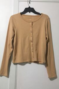 American eagle beige long sleeve shirt Montréal, H4N