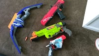 assorted color weapons toy set Michigan, 48842