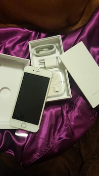 gold iPhone 6 set with box