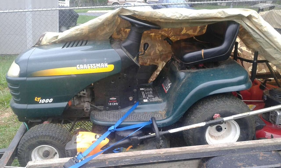 Used Craftsman Tractor Seat : Used craftsman riding lawn tractor price reduced in staunton
