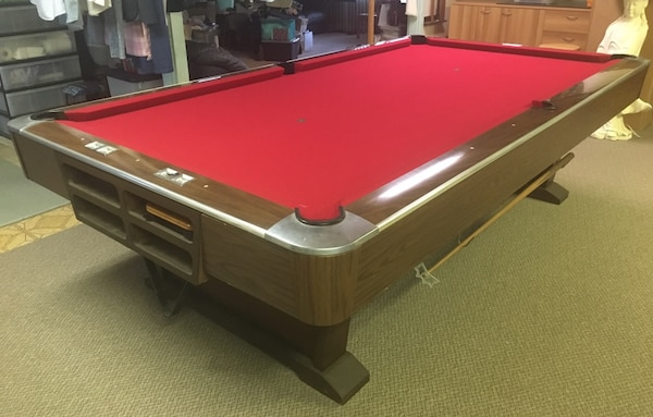 Used Foot Tournament Brunswick Monticello Billiard Table For Sale - Brunswick 9 foot pool table