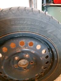 GOODYEAR WINTER TIRES 20560R16 with RIMS Stouffville, L4A