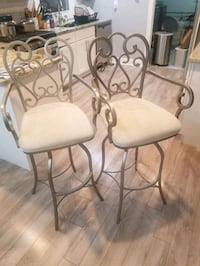 2 barstool chairs