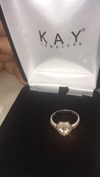 silver Kay Jewelers ring with box Temple Hills, 20748