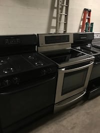 Black and gray induction range oven Columbia, 21044