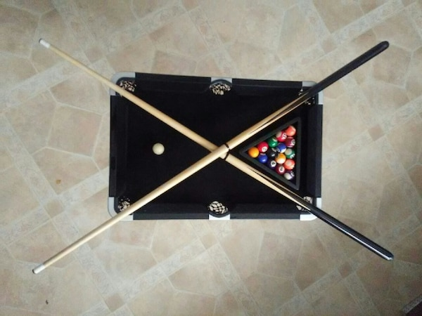 Used Sharper Image Executive Mini Pool Table For Sale In Bayonne - Used mini pool table