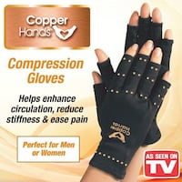 Magnetic Copper Hand Compression Gloves San Antonio, 78218