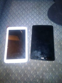 black and white Android tablets 1462 mi