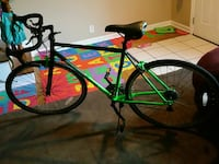 black and green road bicycle Sterling, 20164