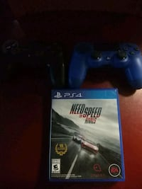 Ps4 2 remotes and Need for speed rivals game  Las Vegas, 89104
