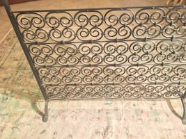Restoration Hardware Fire place screen