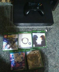 Xbox one x plus 5 games and kinect with wires Alvarado, 76009