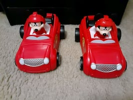 Mickey and the Roadster racer car changing into a roadster racer