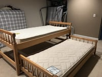 Trundle Bed with Mattresses Perry