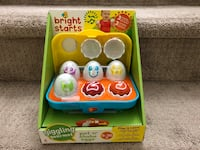 Unopened play & Learn eggs $9 firm