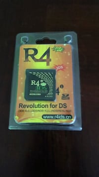 Sealed New R4 Gold Flashcart for DS games Toronto, M5R 2T9