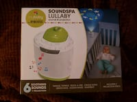 SOUNDSPA LULLABY SOUND AND PROJECTION MACHINE