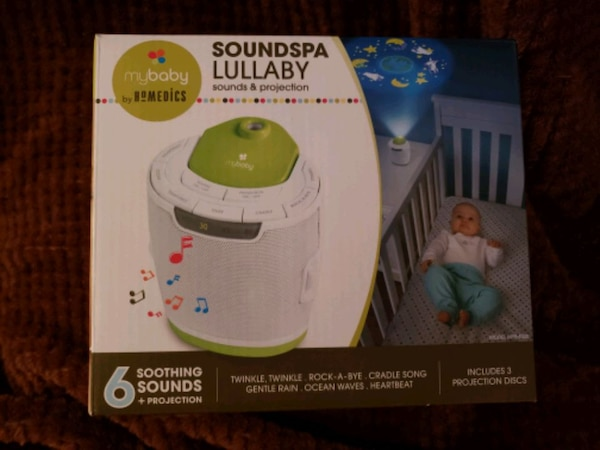 SOUNDSPA LULLABY SOUND AND PROJECTION MACHINE 0