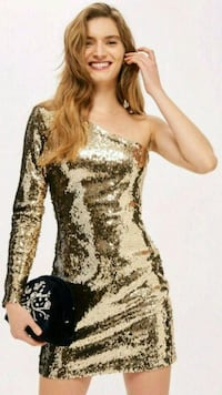 NEW Gold Sequence Dress  Toronto, M4Y 0B9