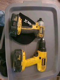 18 volt impact and drill