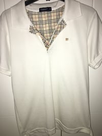 White Burberry Polo Shirt Edmonton, T6V 0L5