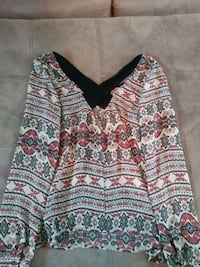 white, red, and black floral sweater Myrtle Beach, 29577