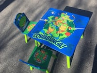TMNT Table & Chairs Shippensburg, 17257