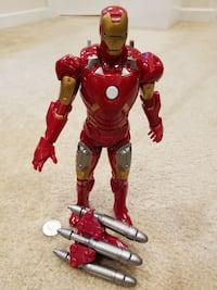 "Marvel Avengers Iron Man 10"" Action Figure Springfield"