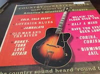 JUST REDUCED  Vinyl Record Country and Western Hits made famous by America's Greatest Singers Rockville