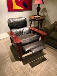 Two matching leather recliners Omaha, 68131