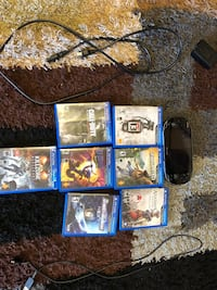 Ps vita with 7 games 8gb very excellent condition Anderson, 29626