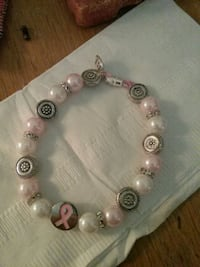 Breast Cancer Awareness Bead Bracelet  Falls Church, 22042