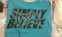 """Tap Out """"Simply Believe"""" tshirt  size XL"""