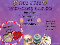Wedding cakes Edmonton