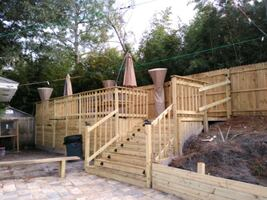 we do decks and terraces