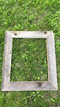 Barn board picture frame inside measures 19-23 North Dumfries