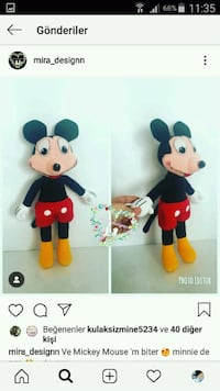 Mickey mouse  Istanbul, 34110