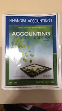 Accounting textbook Edmonton, T6T 1W1