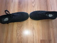 All black VANS Thorold, L2V 1M3