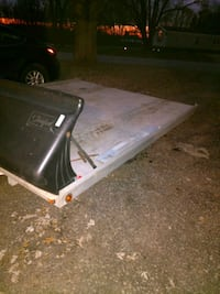 Aluminum trailer with salt/snow shield. Oxford, 53952