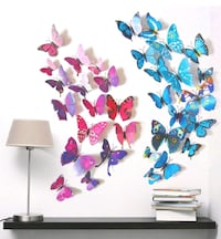 Butterfly wall stickers 3D Decatur