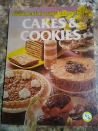 Cakes and Cookies Cook book Phillipsburg, 08865